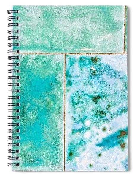 Blue Tiles Spiral Notebook