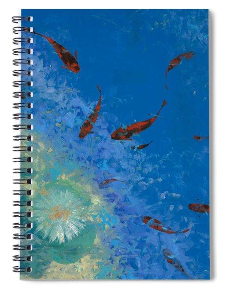 13 Pesciolini Rossi Spiral Notebook