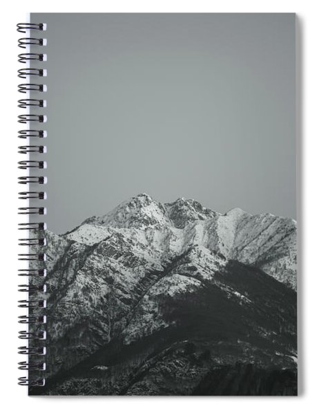 Snow-capped Mountain Spiral Notebook