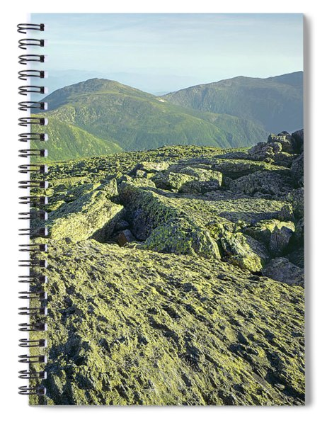 135706 View From Mt. Washington Nh Spiral Notebook