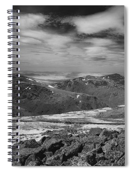 135764 Presidential Range Nh Infrared Spiral Notebook