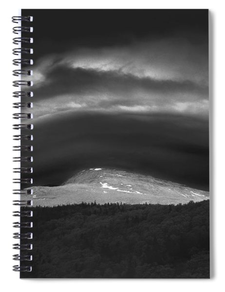 135765 Mt. Washington Lenticular Cloud Nh Spiral Notebook