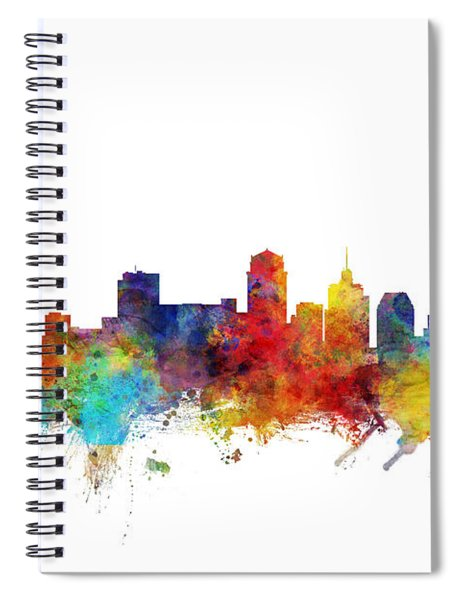 Nashville Tennessee Skyline Spiral Notebook