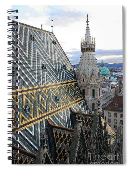 St Stephens Cathedral Vienna Spiral Notebook