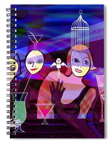 141   Blue Hour A Spiral Notebook