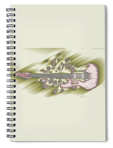 Wedding Guitar Spiral Notebook