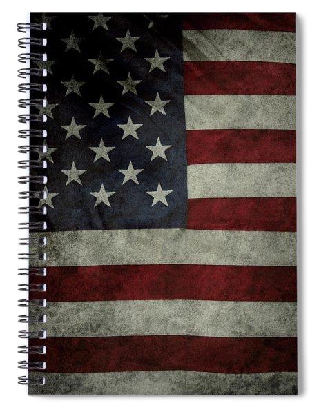 American Flag 62 Spiral Notebook