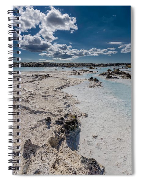 Silica Deposits In Water By The Spiral Notebook