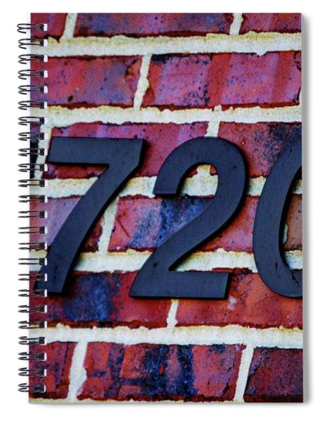 1720 Address Spiral Notebook