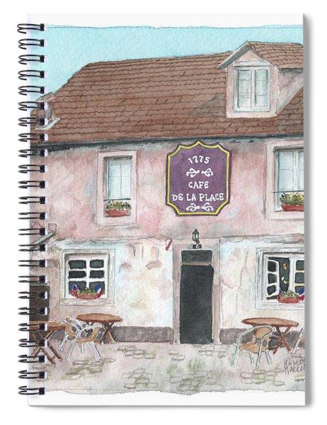 1775 Cafe De La Place Spiral Notebook