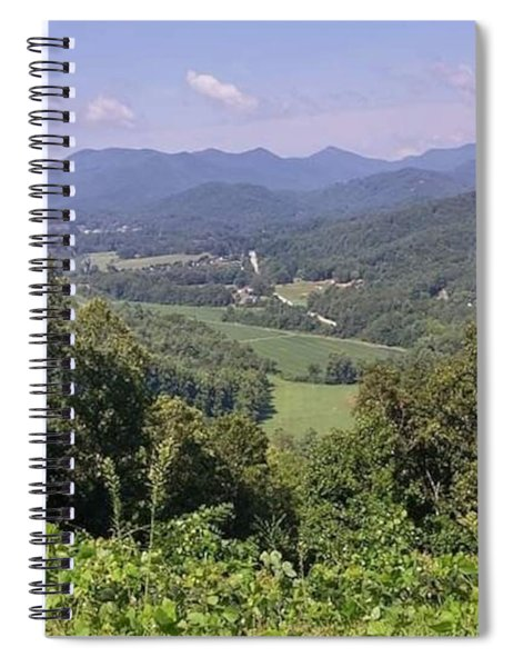 View Of Tranquility Spiral Notebook