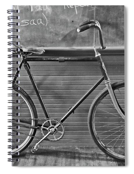 1895 Bicycle Spiral Notebook
