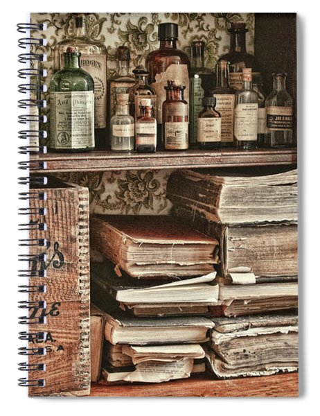 18th Century Pharmacy Spiral Notebook