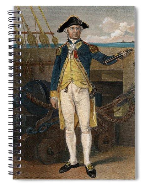 John Paul Jones, 1747-1792 Spiral Notebook
