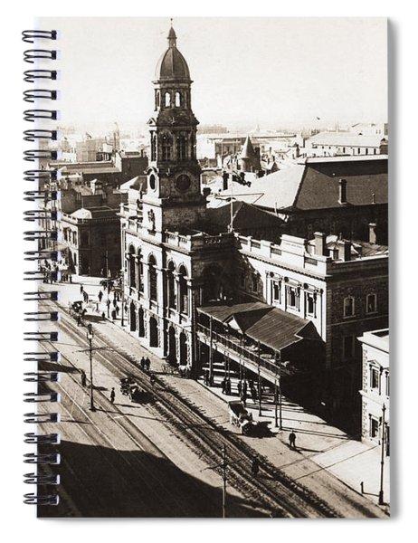 1928 Vintage Adelaide City Landscape Spiral Notebook