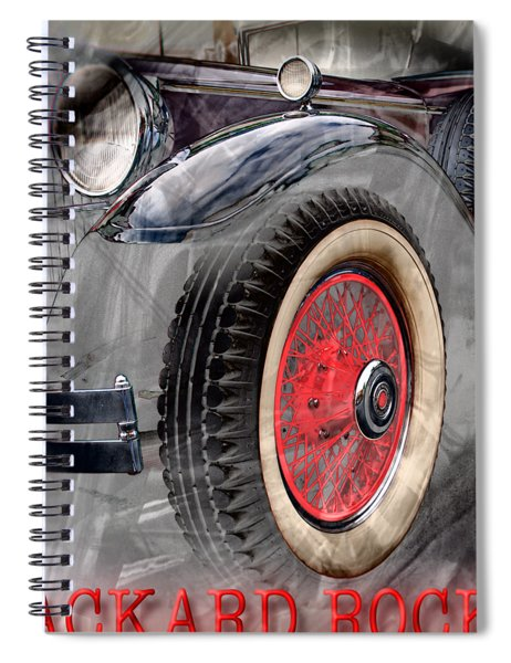 1930 Packard Spiral Notebook