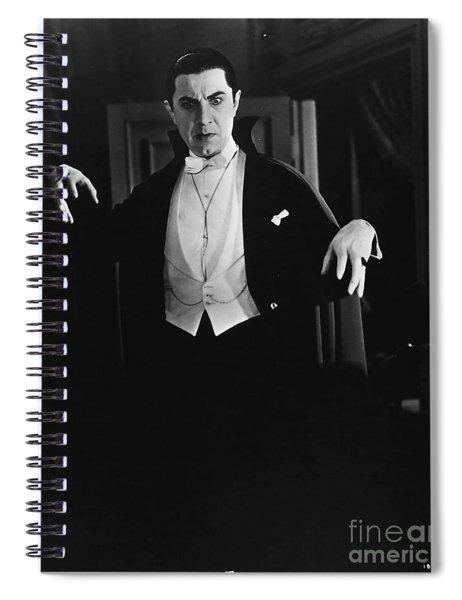 1931 Dracula Bela Lugosi Spiral Notebook