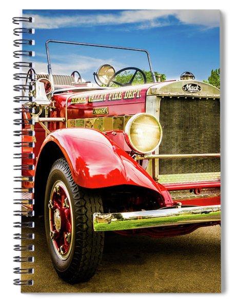 1931 Mack - Heber Valley Fire Dept. Spiral Notebook