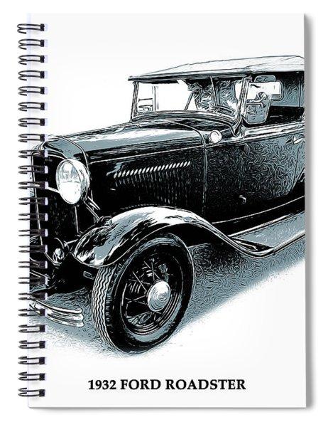 1932 Ford Roadster Spiral Notebook