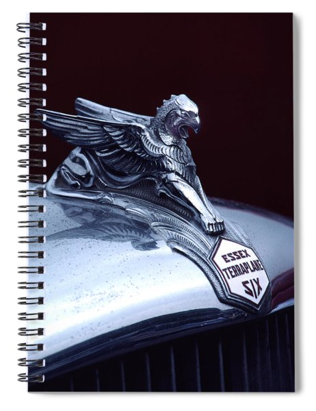 1933 Hudson Essex Terraplane Griffin Hood Ornament Spiral Notebook
