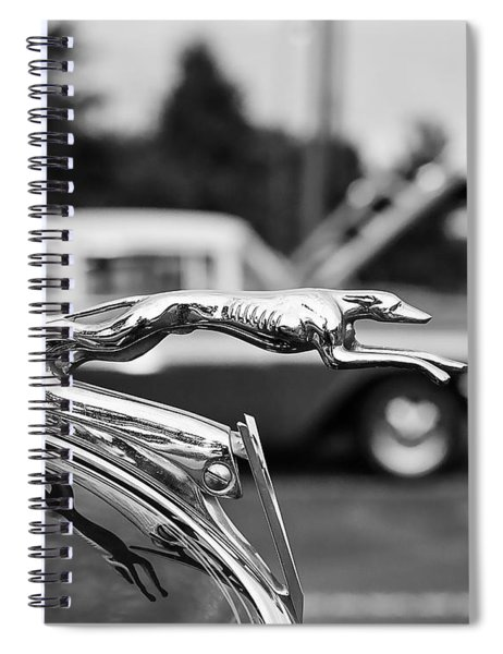 1934 Ford V8 Hood Ornament Spiral Notebook