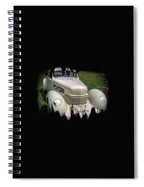 1936 Cord Automobile Spiral Notebook