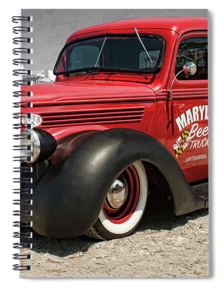 1938 Ford Pickup Rat Rod Spiral Notebook