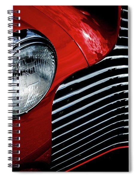 1940 Chevy 2-door Spiral Notebook