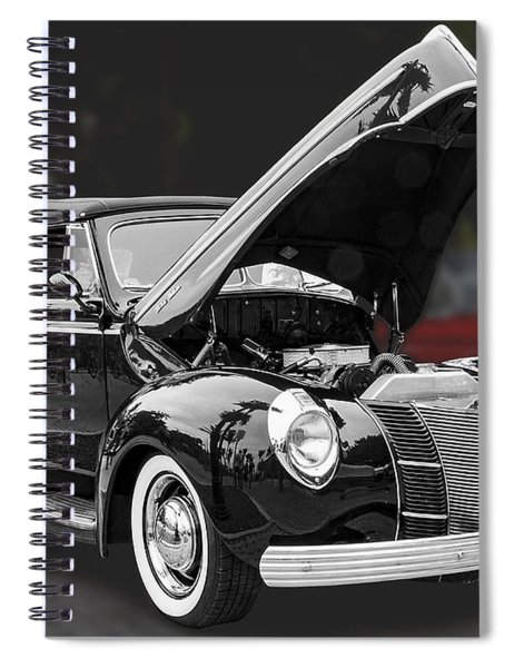 1940 Ford Deluxe Automobile Spiral Notebook
