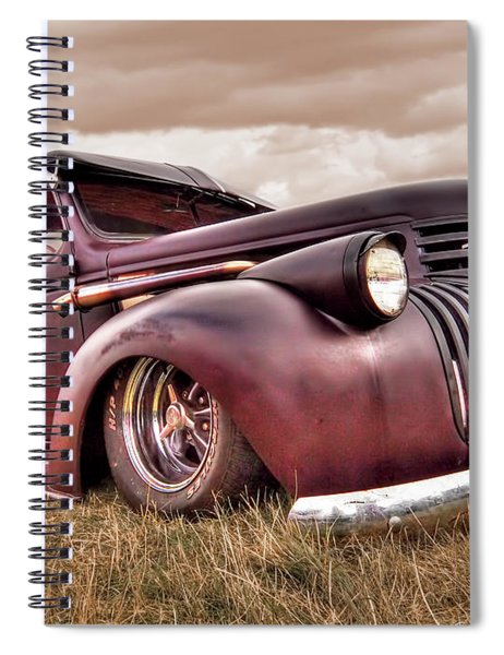 1941 Rusty Chevrolet Spiral Notebook