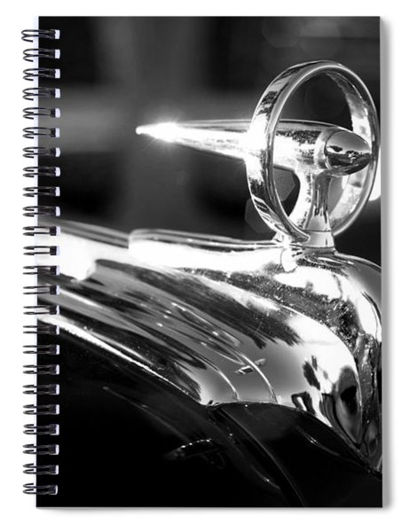 1946 Ford V8 Hood Ornament Spiral Notebook