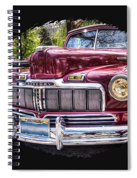 1948 Mercury Convertible Spiral Notebook