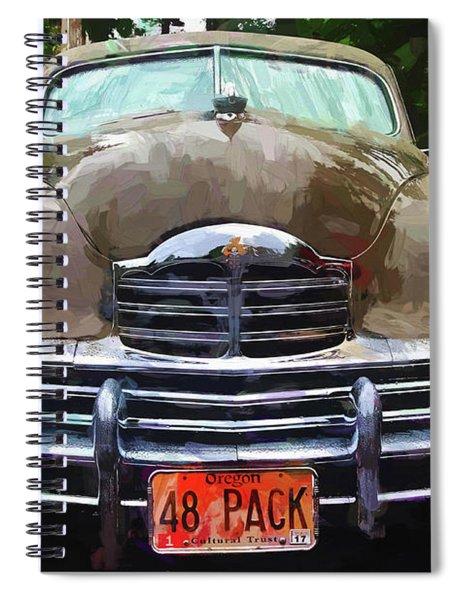 1948 Packard Super 8 Touring Sedan Spiral Notebook