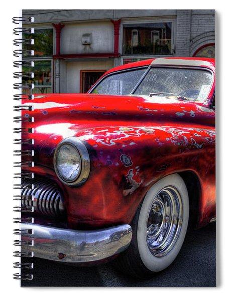 1950 Mercury 4 Door Spiral Notebook