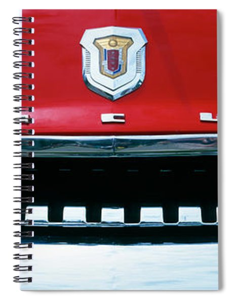 1950s Mercury Spiral Notebook
