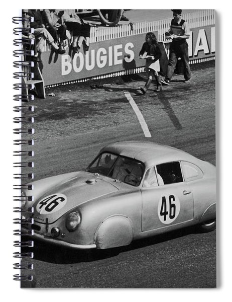 1951 Porsche Winning At Le Mans  Spiral Notebook