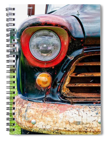 1956 Chevy 3200 Pickup Grill Detail Spiral Notebook