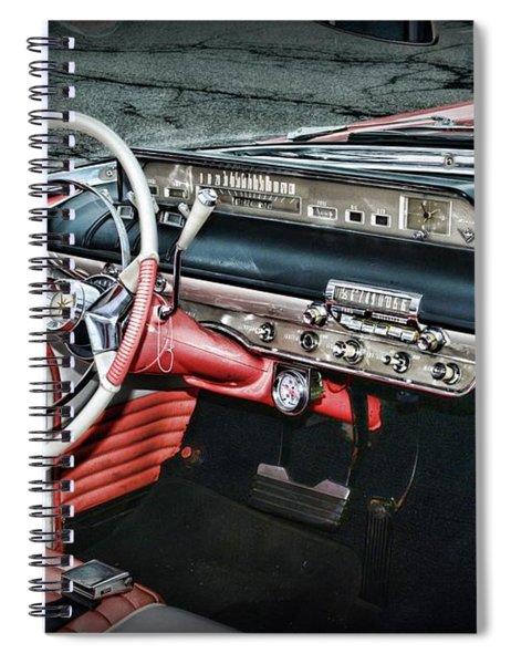 1956 Lincoln Continental Premiere Cockpit Spiral Notebook