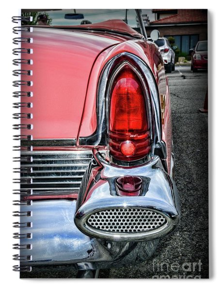 1956 Lincoln Continental Premiere Tail Light Spiral Notebook
