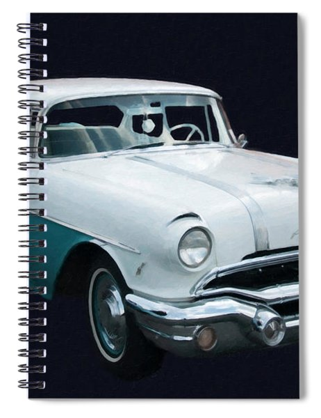 1956 Pontiac Star Chief Digital Oil Spiral Notebook