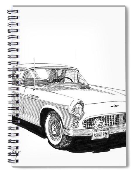 1956 Thunderbird Spiral Notebook
