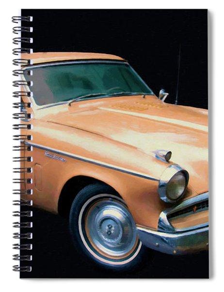 1957 Studebaker Golden Hawk Digital Oil Spiral Notebook