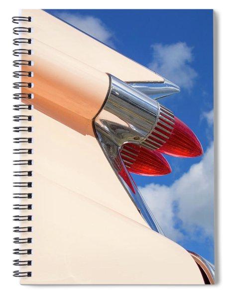 1959 Cadillac Coupe De Ville 08 Spiral Notebook