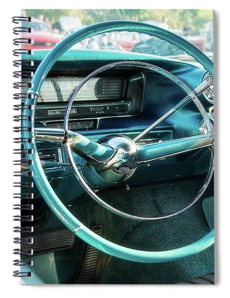 1959 Cadillac Sedan Deville Series 62 Dashboard Spiral Notebook