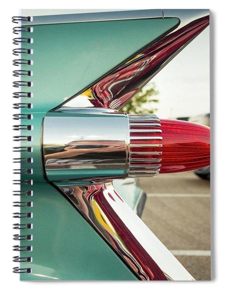1959 Cadillac Sedan Deville Series 62 Tail Fin Spiral Notebook