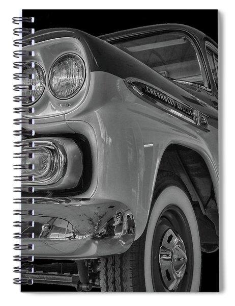 1959 Chevrolet Apache - Bw Spiral Notebook