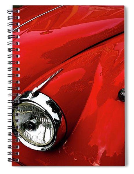 Red Jaguar Spiral Notebook