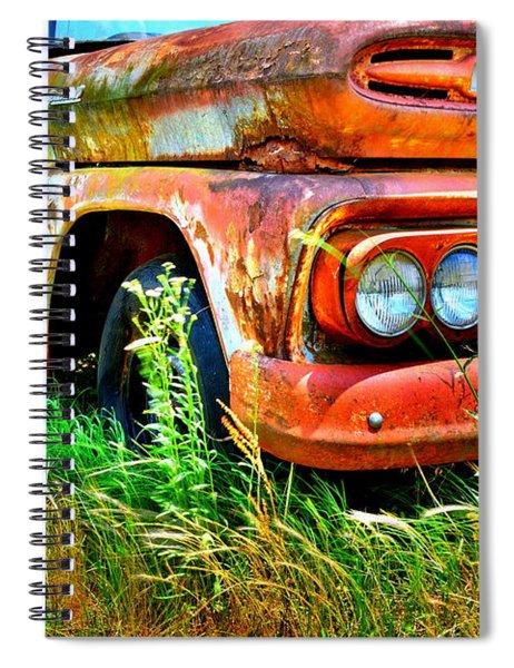 1961 Chevrolet Apache 10 5 Spiral Notebook