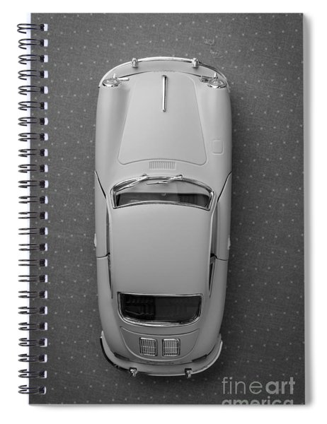 1961 Porsche 356 B Coupe Spiral Notebook