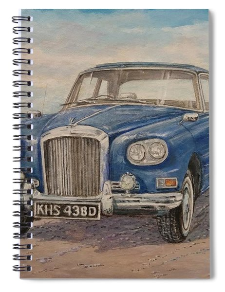 1963 Bentley Continental S3 Coupe Spiral Notebook